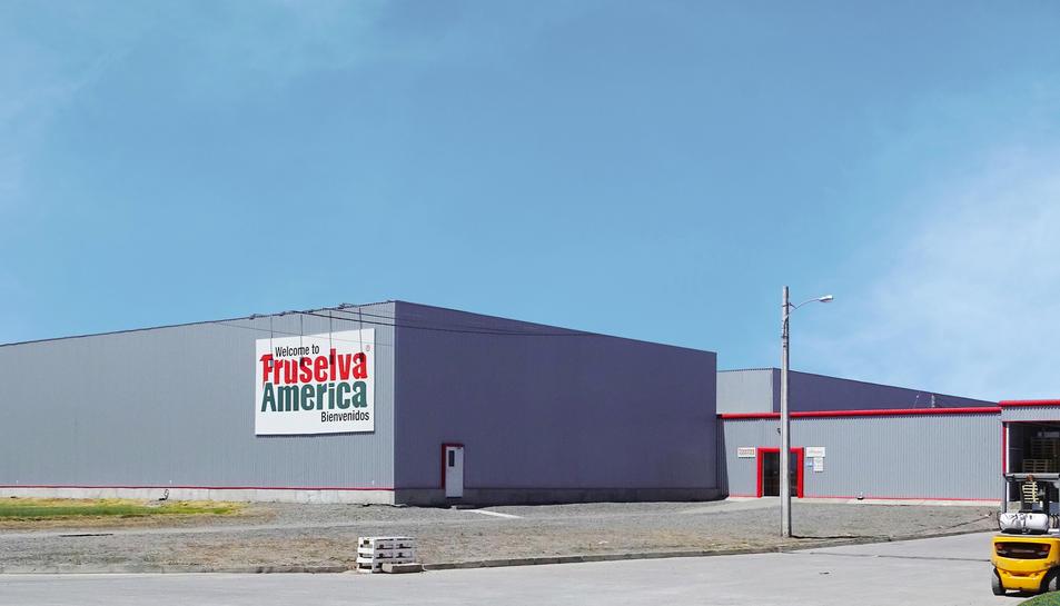 Fotografia de la fàbrica de Global Fruselva a Xile.