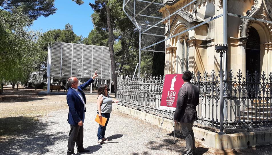 El pressupost de la intervenció, que inclou l'informe previ i la pròpia actuació sobre el mausoleu,ascendeix aproximadament als 55.000 euros.