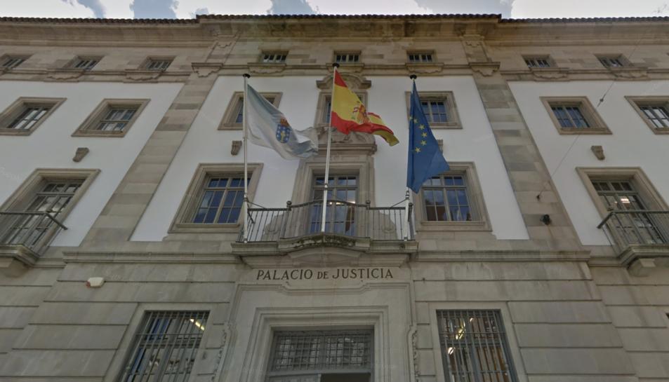 Imatge d'arxiu de l'Audiència de Pontevedra.