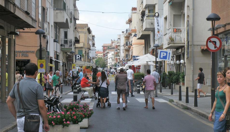 Imatge del carrer Pau Casals.
