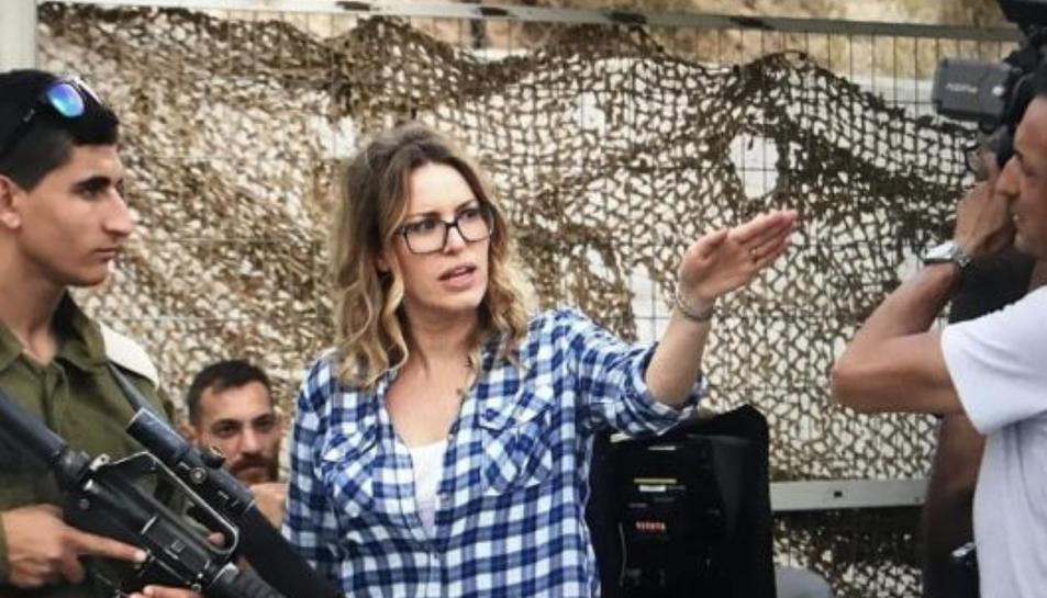 La cineasta palestina Farah Nabulsi, autora d'un dels curts del cicle.