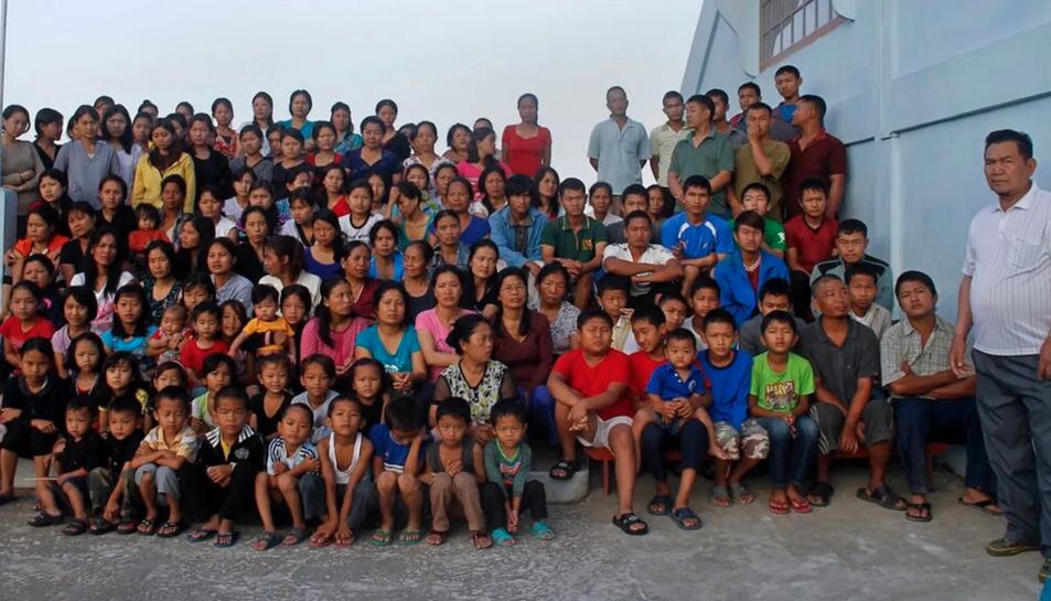 Chana amb la seva família en una imatge publicada a les xarxes socials.