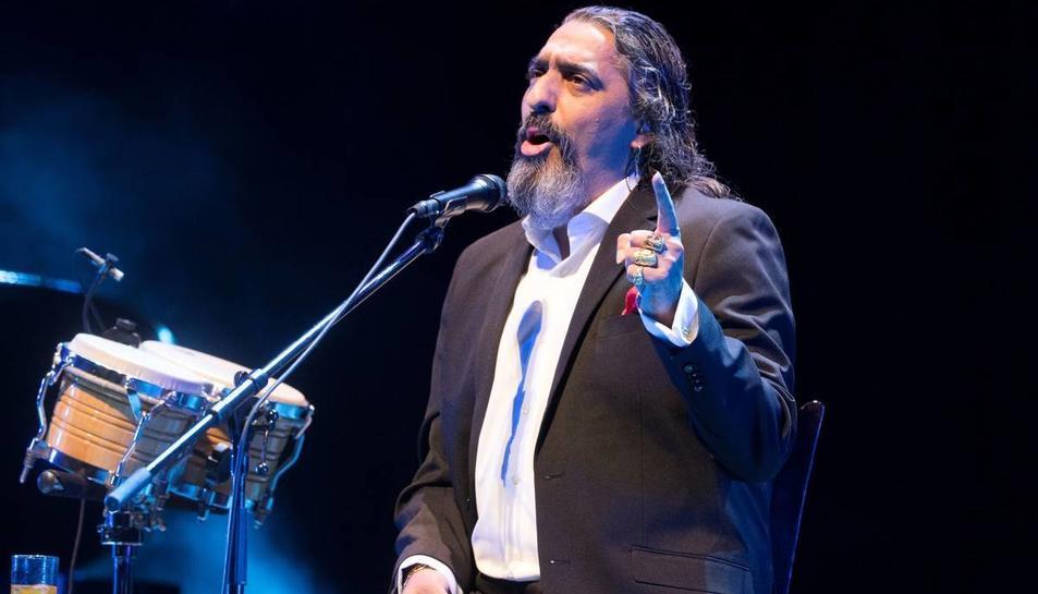 Imatge de Diaego El Cigala durant una actuació.