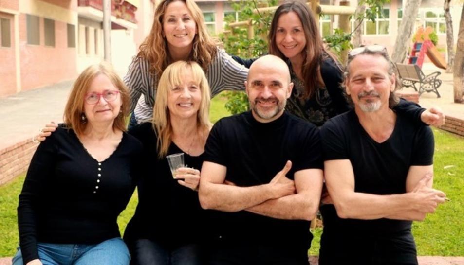 Els sis integrants de la nova companyia Antagonista Teatre.