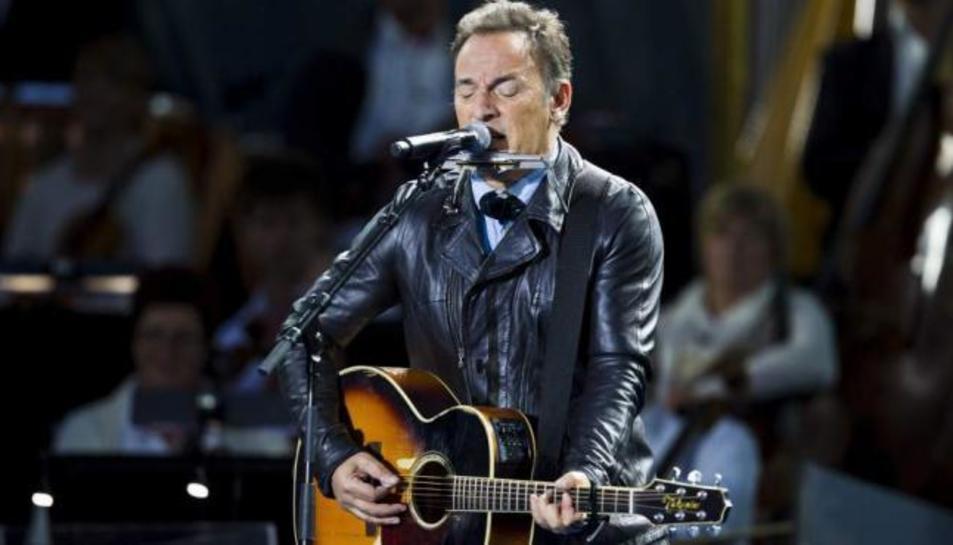 Bruce Springsteen, en un conciert.