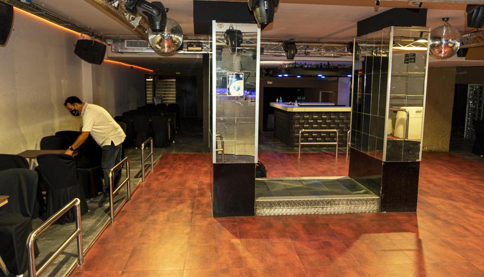 La discoteca Totem és una de les úniques de la ciutat que ha obert la primera nit que es podia.