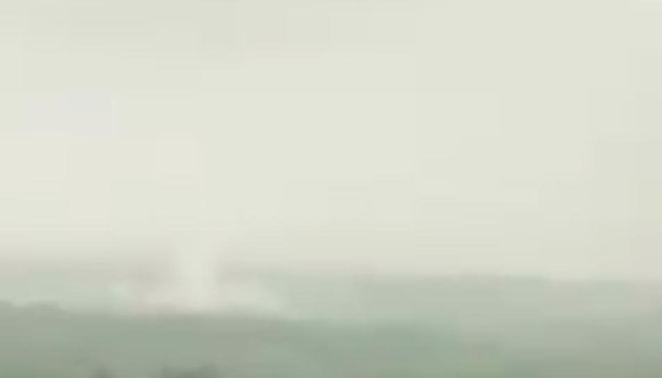 Tivissa registra un possible tornado