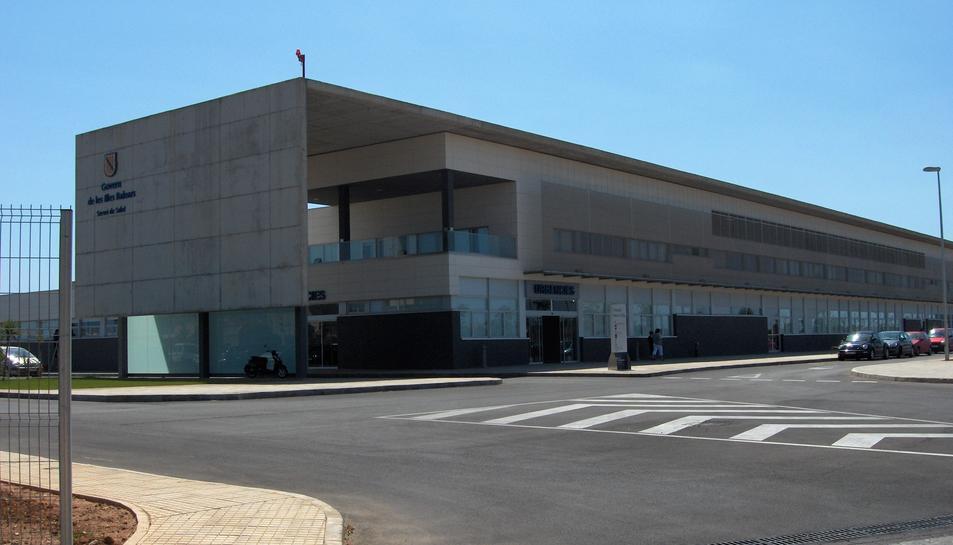 Imatge d'arxiu de l'hospital Mateu Orfila de Mahón.
