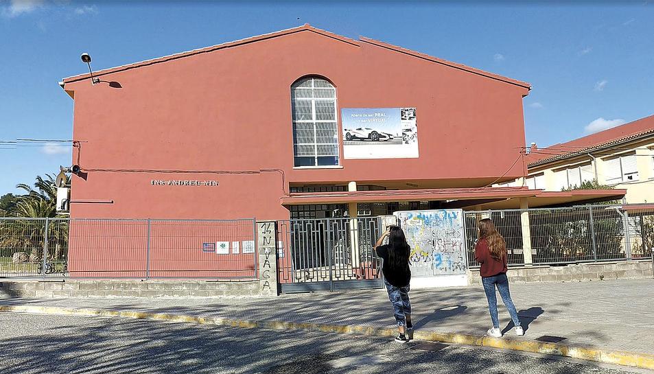 L'Institut Andreu Nin ha crescut molt en nombre d'alumnes i en oferta formativa els darrers anys.