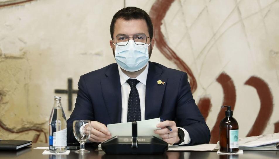 Imatge de Pere Aragonès.
