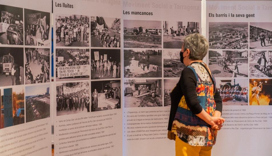 L'exposició es pot visitar al Mercat de Torreforta fins al 4 de juliol.