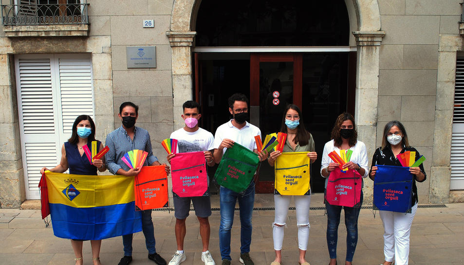 La campanya vol destacar els uport de Vila-seca al Dia Mundial de l'Orgull LGTBI