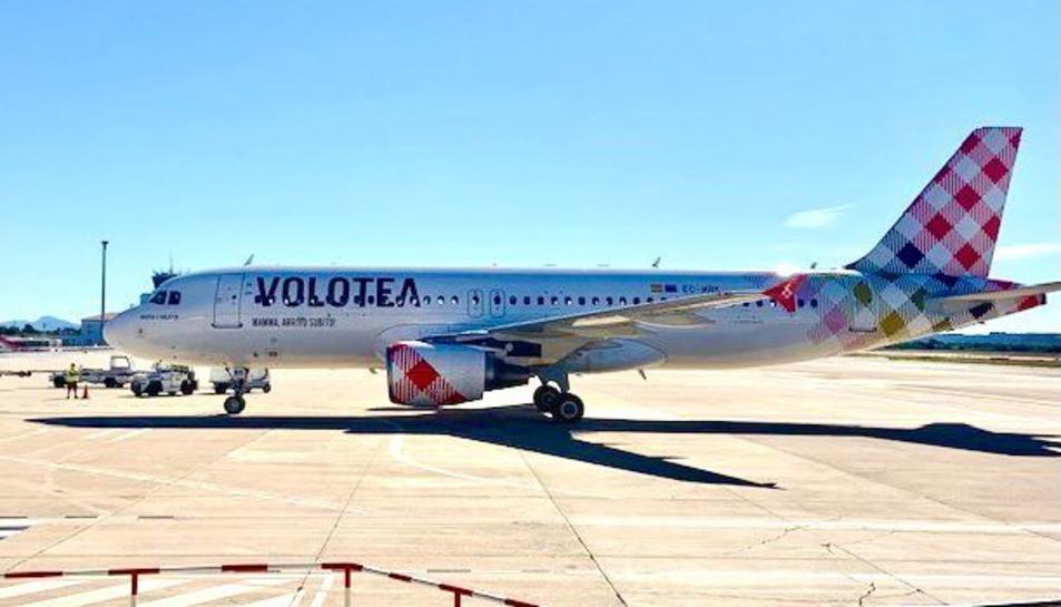 Imatge de l'avió de Volotea.