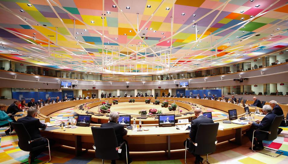 La cimera del Consell Europeu del 24 de juny del 2021.