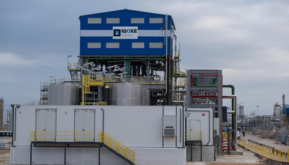 Imatge de les instal·lacions d'IQOXE a la Canonja.
