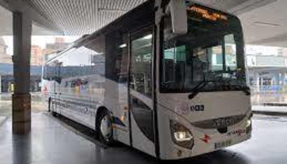 Imatge d'arxiu d'un autobús a Murcia.