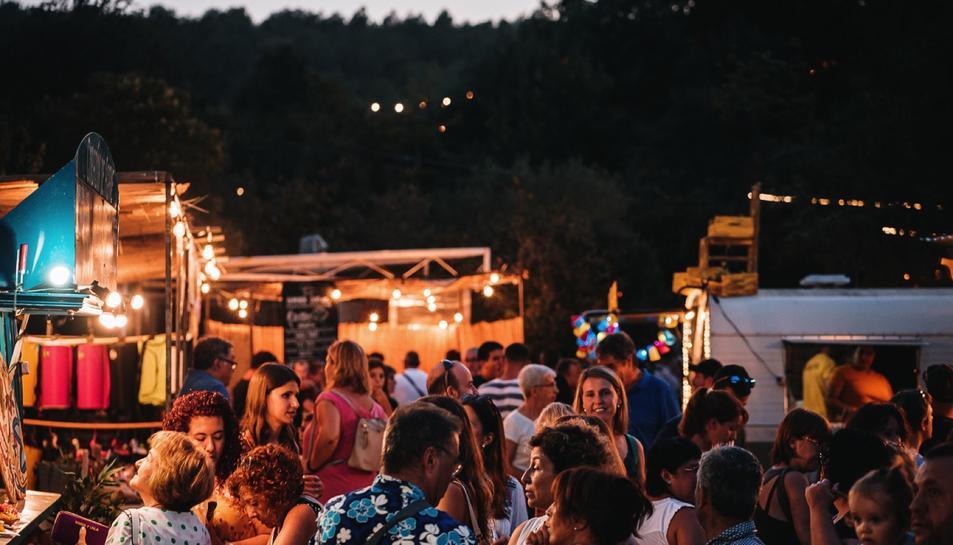 Imatge de l'anterior edició del Nomad Festival, celebrada el 2019.