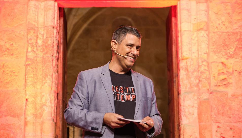 Agustí López és l'organitzador de TEDxTarragona