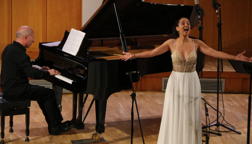 La soprano Sara Blanch ha estat un dels plats forts de la 40a edició del festival