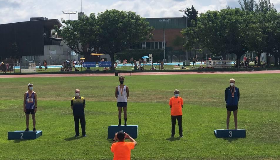 Oscar Lefler va quedar subcampió a 2.000 metres obstacles.