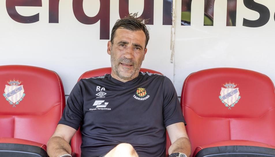 Raúl Agné serà el comandant de la banqueta del Nàstic en una temporada en la qual té clar que l'ascens a Segona A ha de ser la màxima prioritat.
