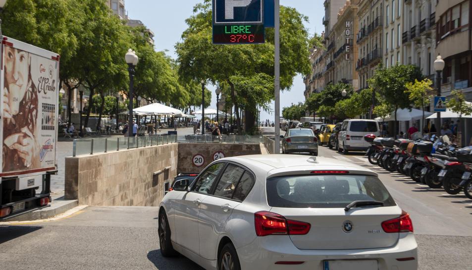 El pàrquing del tram del Balcó del Mediterrani de la Rambla Nova és un dels quatre participants.