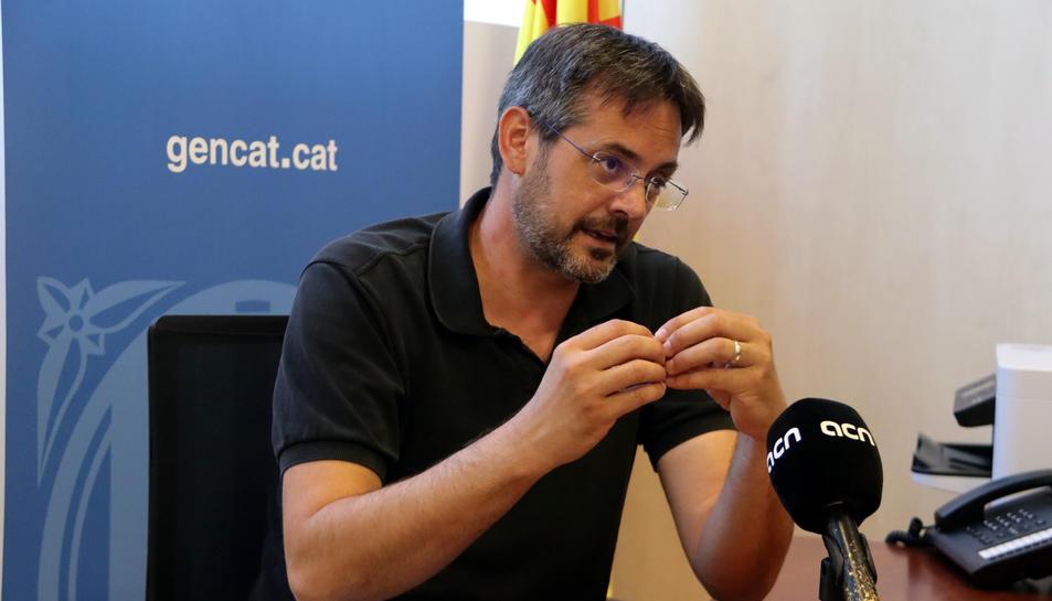El nou delegat del Govern al Penedès, David Alquézar.