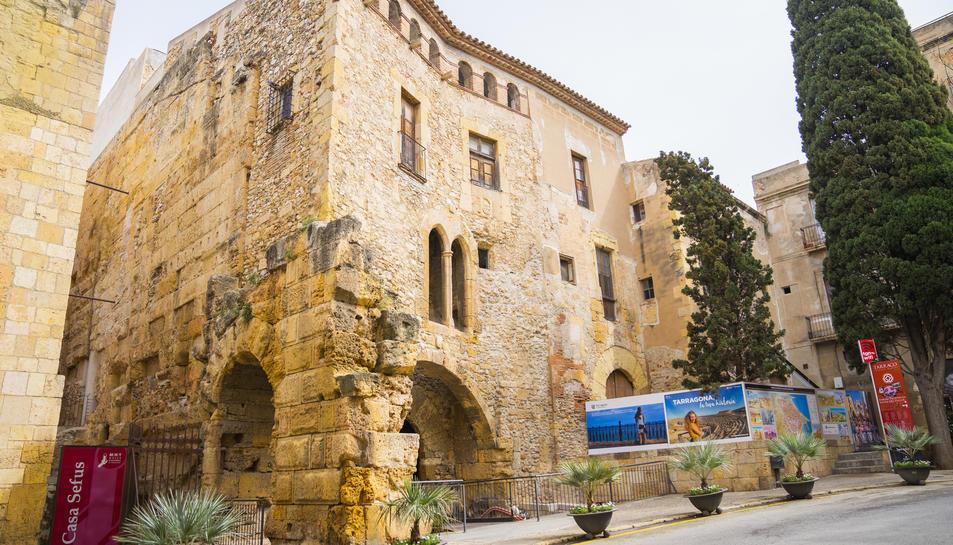 L'actuació a Ca l'Agapito ha de consolidar l'edifici, que acollirà un centre d'experiència.