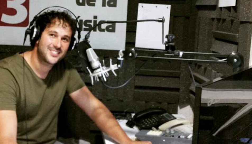 Imatge d'arxiu del periodista vallenc Carles Heredia.