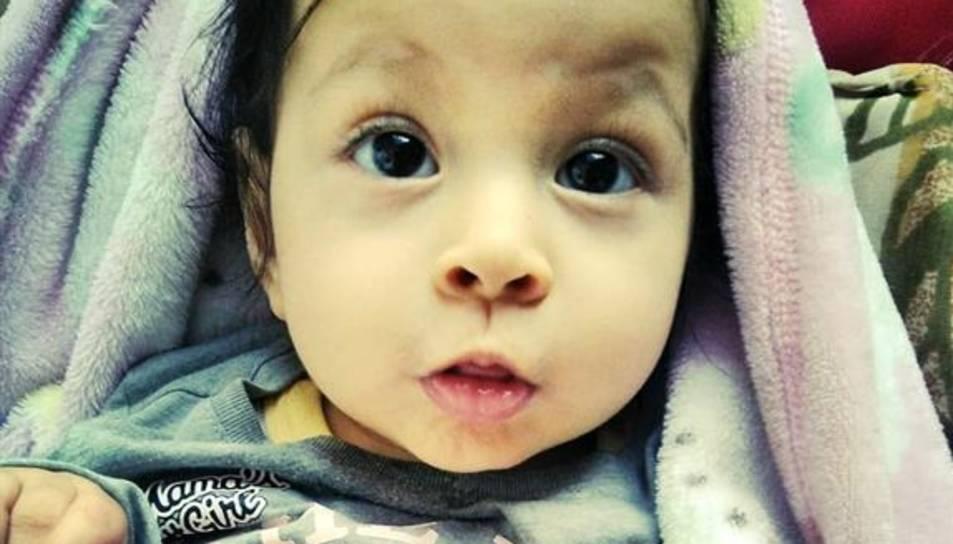 La petita Nohelia Valverde.