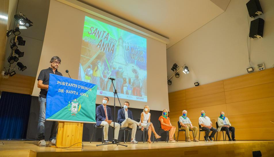 El 'Reconeixement dels Portants' inaugura la Festa Major del Vendrell