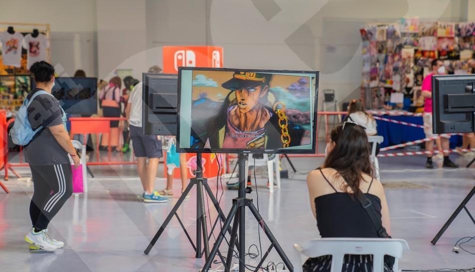 La cultura 'anime' de l'Expotaku envaeix el Palau de Congressos