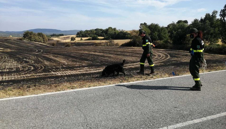 Zpoa on es va inicial l'incendi de Santa Coloma de Queralt.
