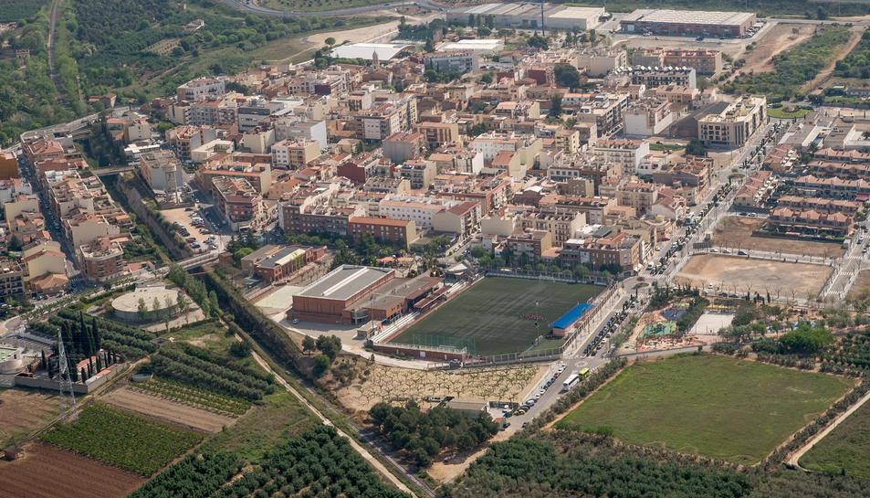 Imatge aèria de La Pobla de Mafumet