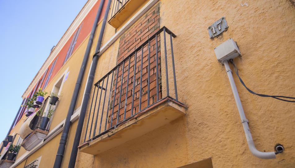 El primer pis del número 17 del carrer Ferrers ja havia patit intents d'ocupació en altres ocasions.