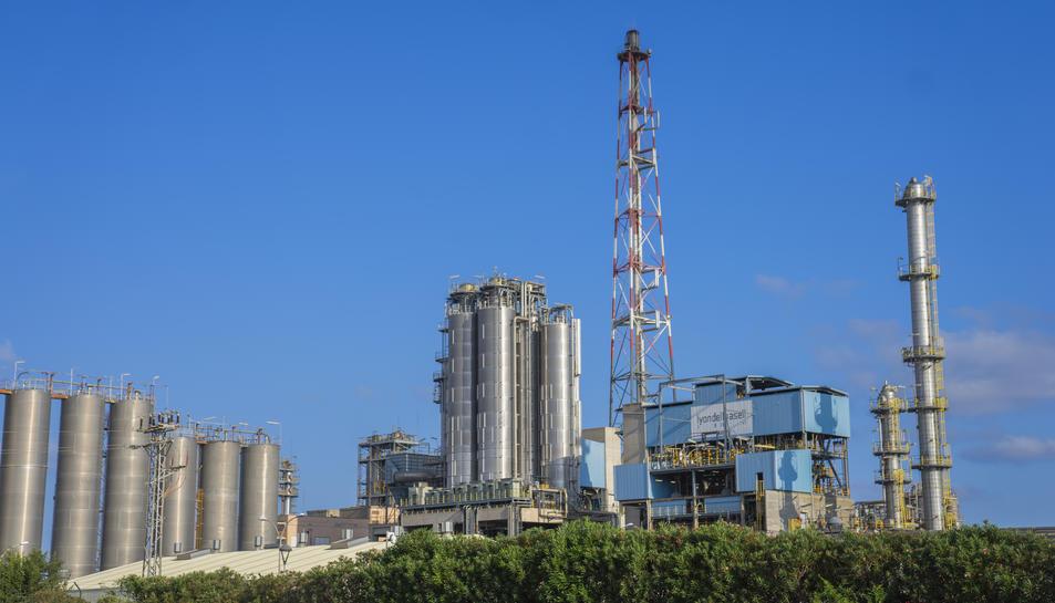 Imatge de les vistes del polígon sud des del barri de Bonavista.