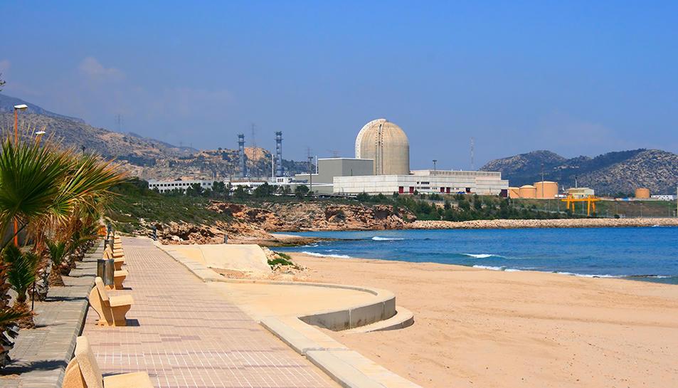 Imatge de la central de Vandellòs, on ara es vol construir un magatzem de residus radioactius.