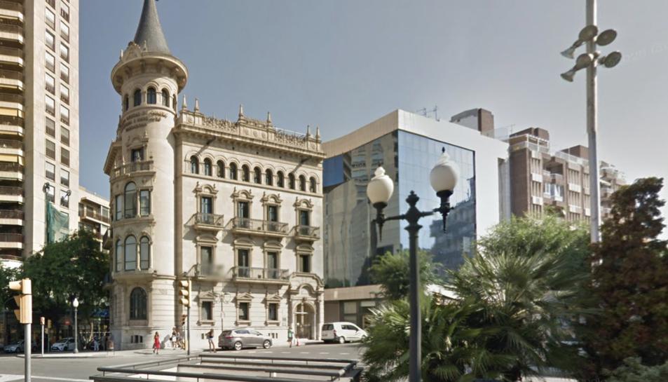 Imatge d'arxiu de l'edifici de la Cambra de Comerç de Tarragona.
