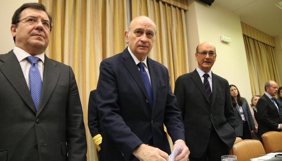 L'exministre de l'Interior, Jorge Fernández Díaz,