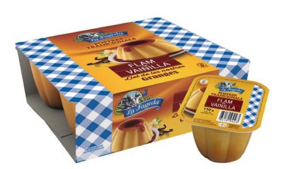 La Fageda ha retirat diversos lots de falm de vainilla del mercat.