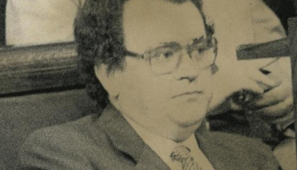 Josep Sendra, en una imatge d'arxiu