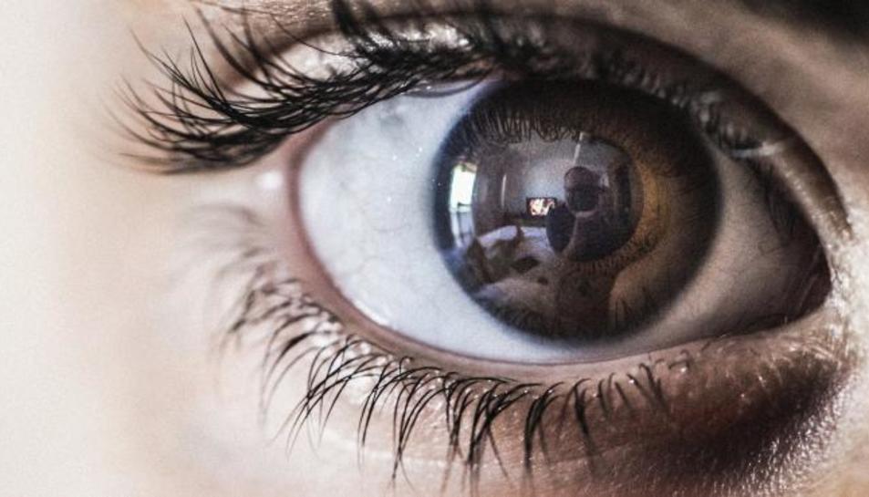 Imatge d'arxiu d'un ull humà.