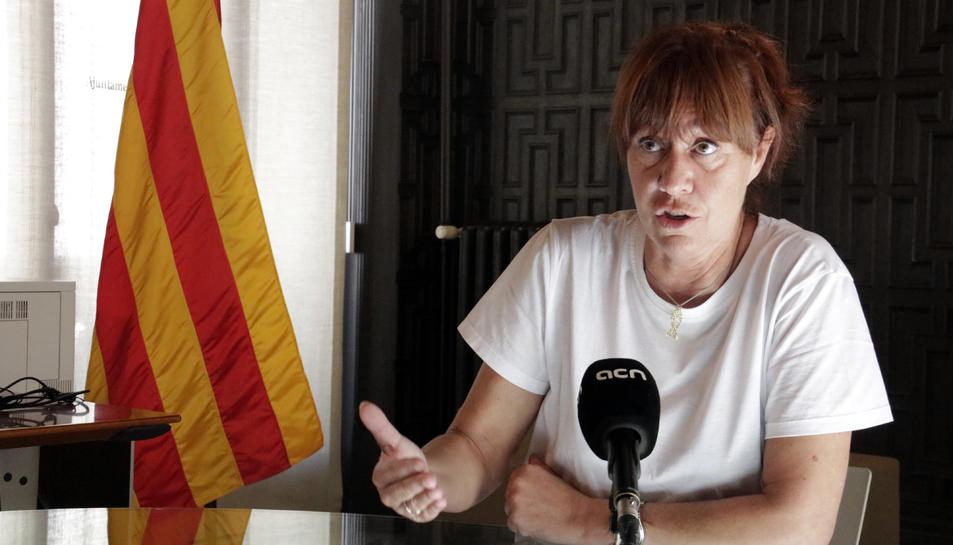 L'alcaldessa de Girona i diputada al Parlament, Marta Madrenas.