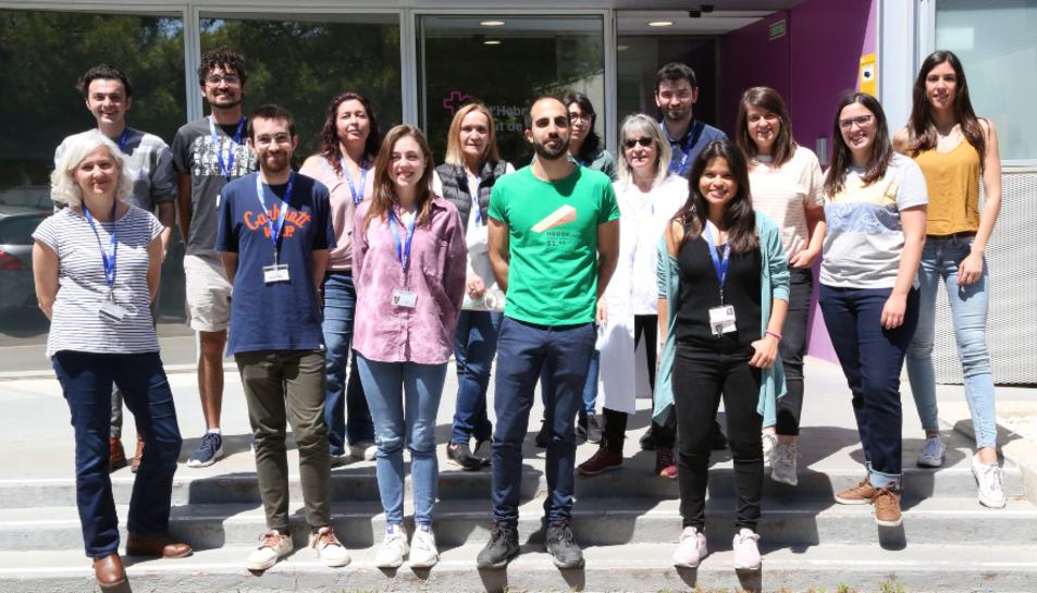 Grup dels investigadores dirigits por la Doctora Ibane Abasolo (CIBER-BBN) al VHIR.
