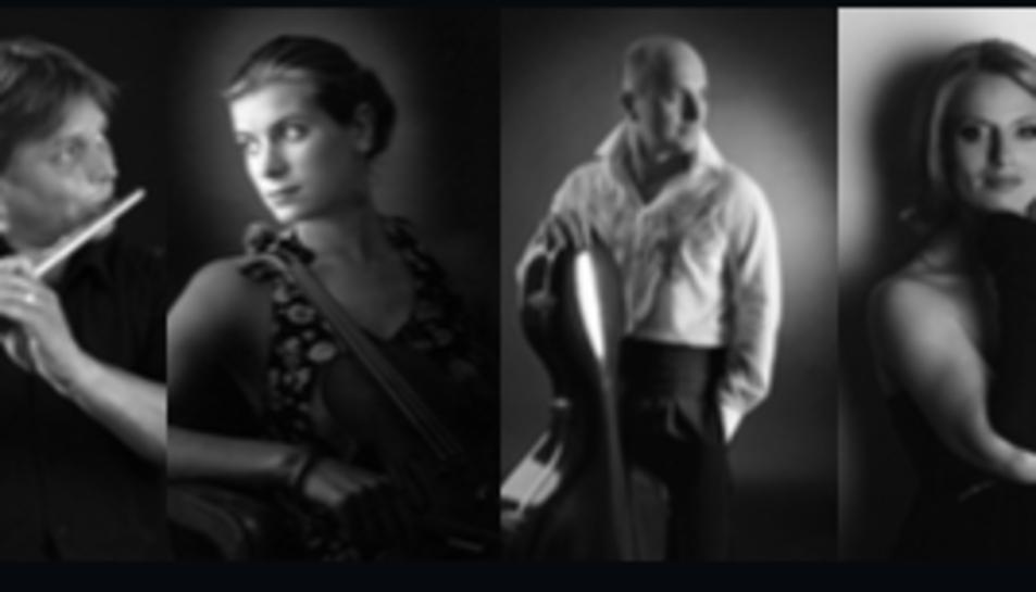 Els Ensemble Martinu, de Praga, és un quartet integrat per piano, flauta, violí i violoncel