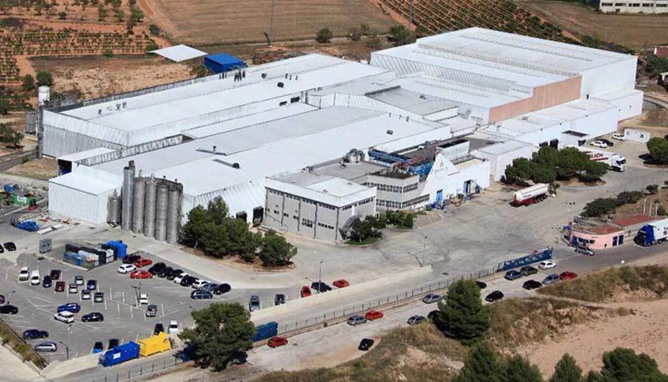 Factoria d'Europastry a la loclitat de Sarral.