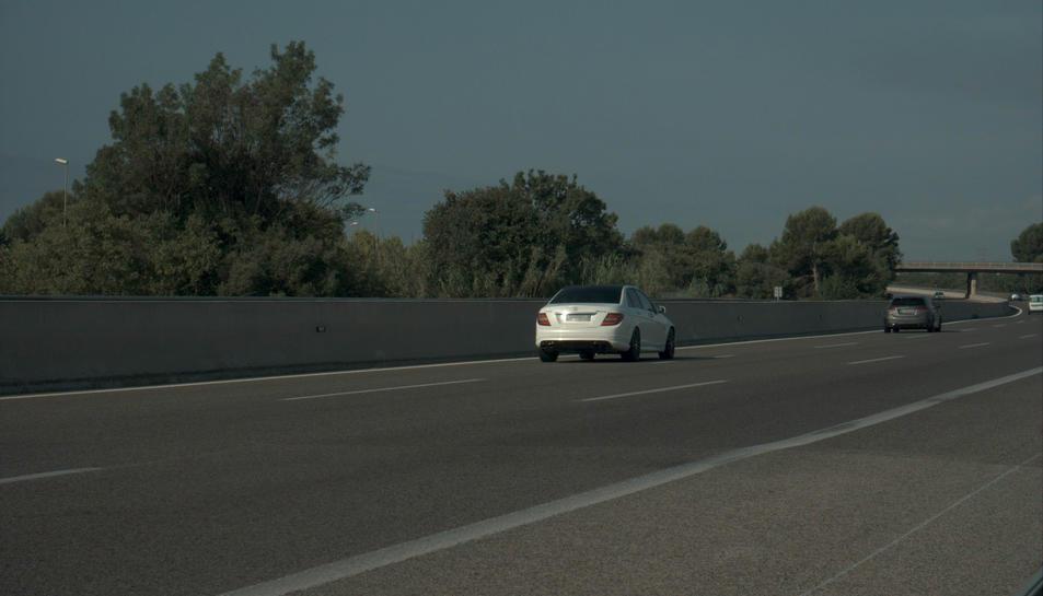 Imatge d'un dels cotxes enxampats.
