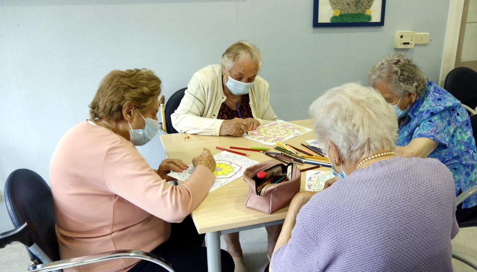 Plans generals d'usuàries de la residència l'Hospital de Camprodon (Ripollès)