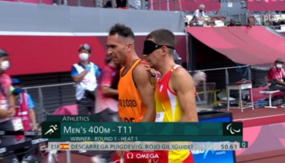 El reusenc Gerard Descarrega estarà a la final en els 400 metres llisos dels Jocs Paralímpics de Tòquio