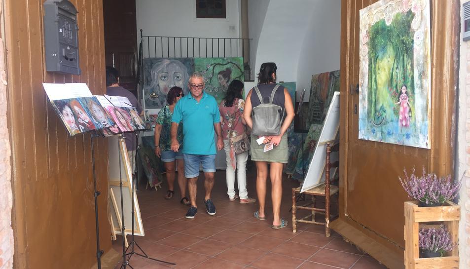 Visitants en l'anterior edició del Montbriart, que es va celebrar l'any 2019.